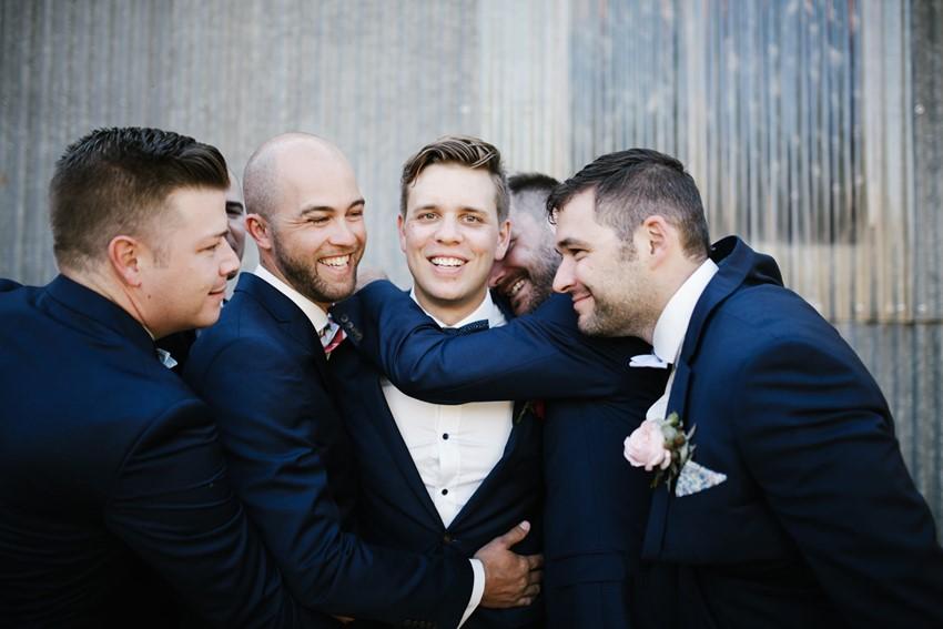 Groom & groomsmen // Photography by Brown Paper Parcel