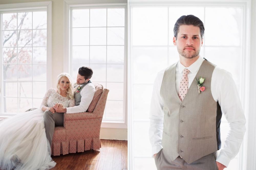 Glam Vintage Inspired Bride & Groom // Photography ~ @shannonduggan