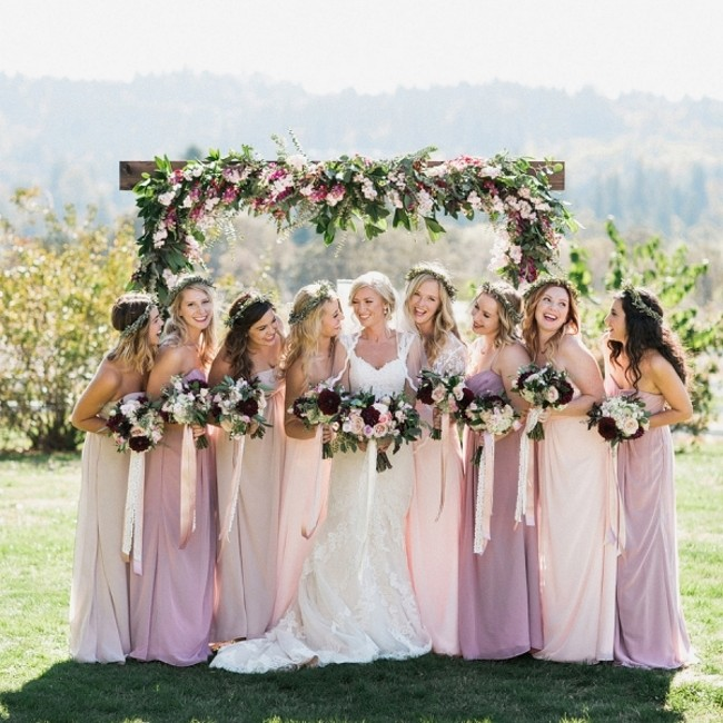 Berry Beauty - Romantic Outdoor Wedding Inspiration in Blackberry & Plum