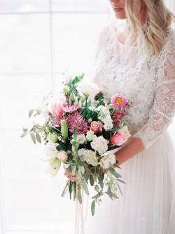 Pink Bridal Bouquet // Photography ~ @shannonduggan
