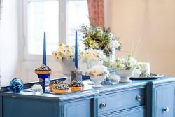 Winter Wedding Dessert Table // Photography ~ Twin Lens Weddings