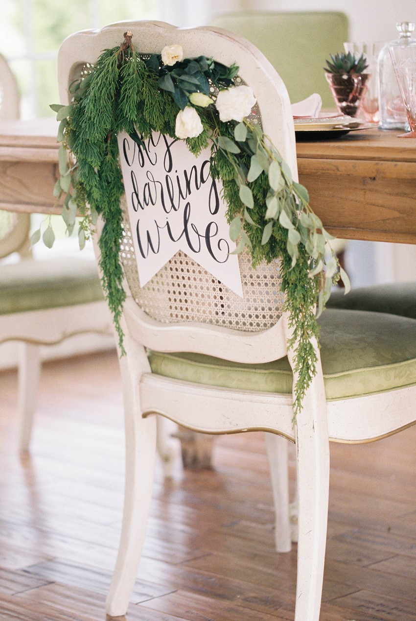 Wedding Chair Decor // Photography ~ @shannonduggan
