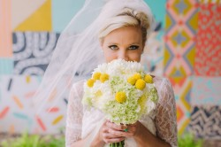 Mid Century Elopement Bridal Look // Photography ~ Amanda Dumouchelle Photography