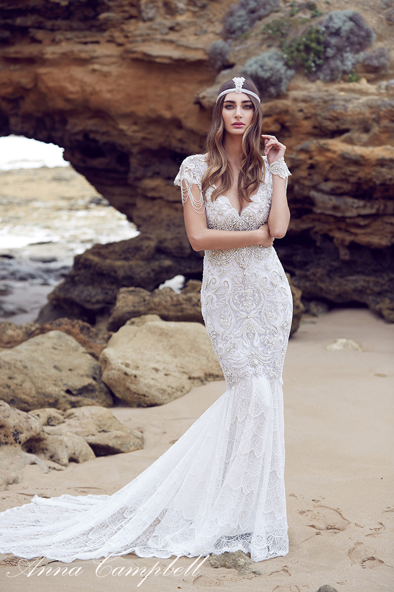 Anna Campbell Wedding Dress Sierra from her 2016 Spirit Collection