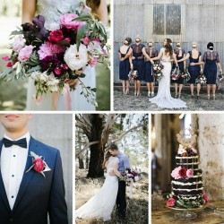A Glamorous Rustic Wedding