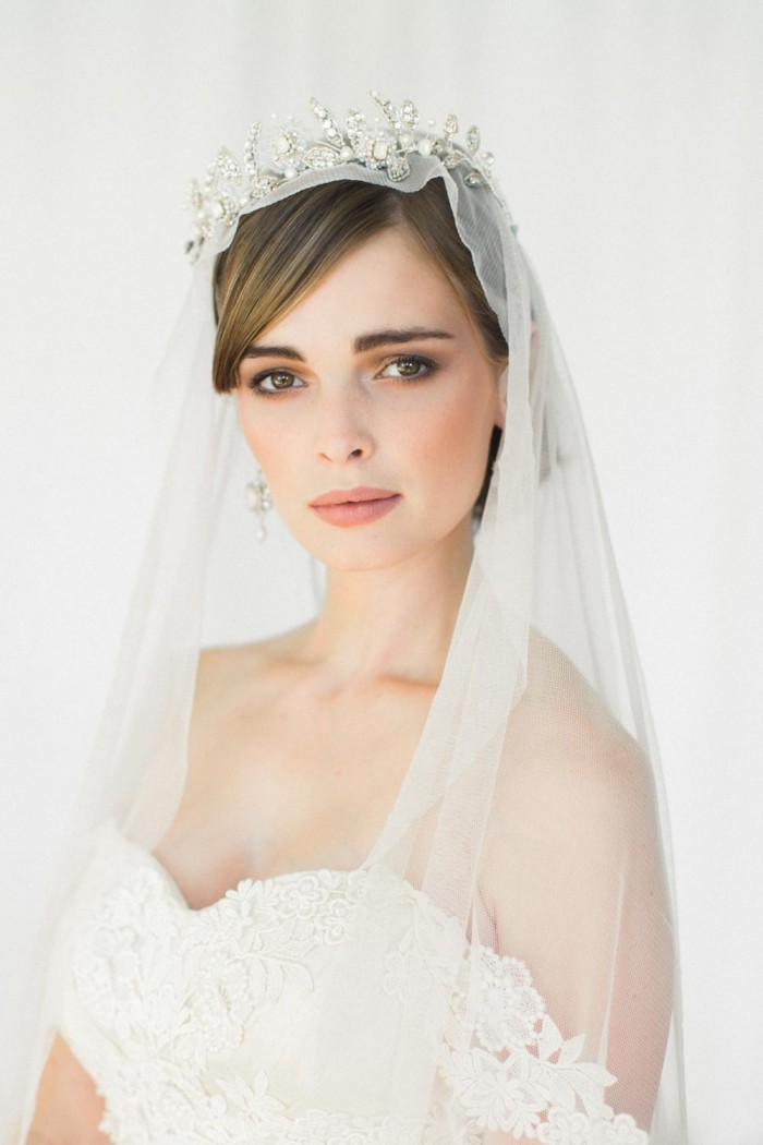 Aquarelle Bridal Tiara Chic Vintage Brides