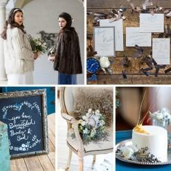 Enchanting Winter Wedding Ideas // Photography ~ Twin Lens Weddings