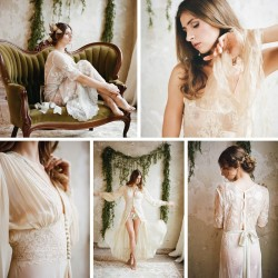 Romantic Vintage Butterfly Boudoir Session // Photography ~ Archetype Photography