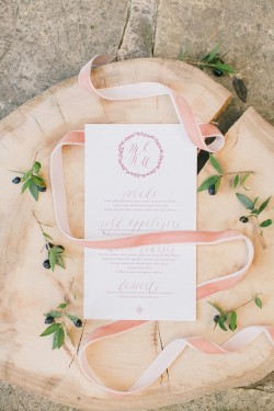 Romantic Vintage Boho Wedding Stationery // Photography ~ Anna Roussos Photography
