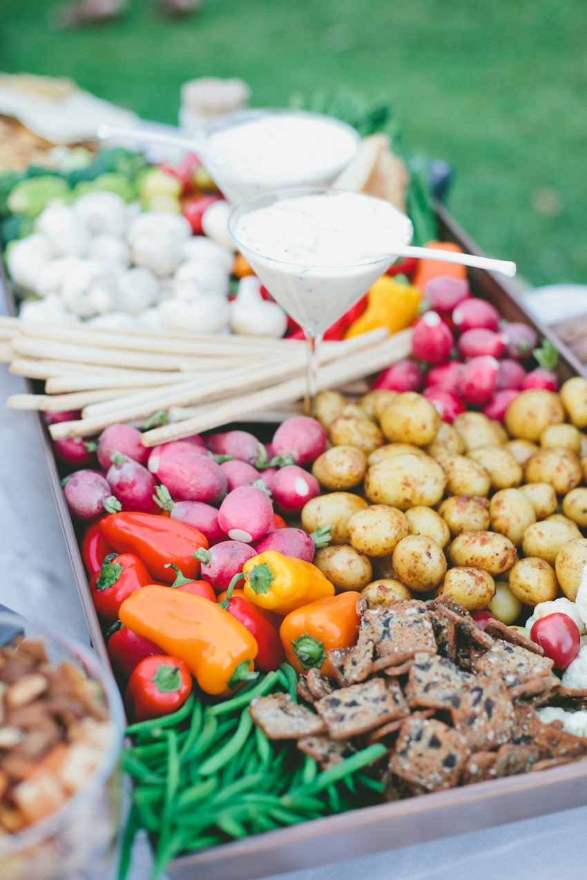 Farm to Table Wedding Food