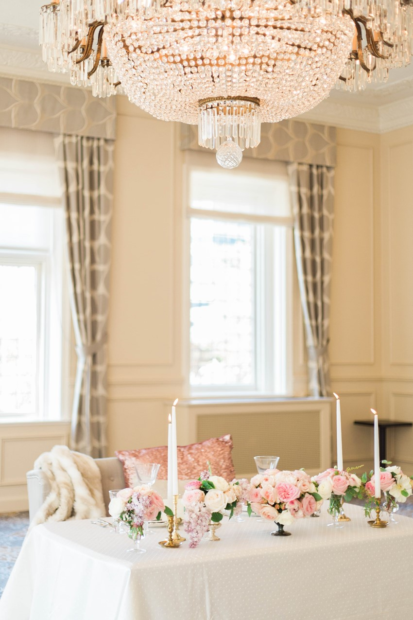 Glamorous Wedding Sweetheart Table // Photography ~ Kerry Jeanne Photography