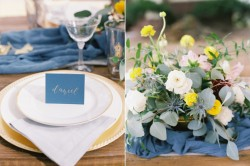 Autumn Place Setting & Wedding Centrepiece // Photography ~ Wendy Cooper Photography