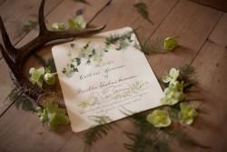 Elegant Watercolour Wedding Invite // Photography ~ Nataschia Wielink