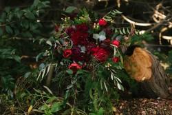 A Stunning Autumn Bridal Bouquet