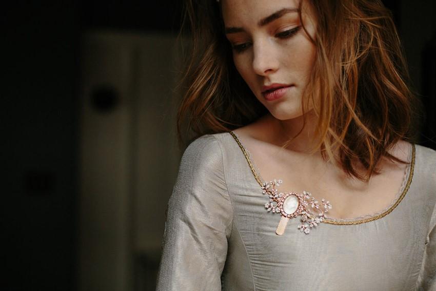 Rose Gold Bridal Accessory from Erica Elizabeth Designs