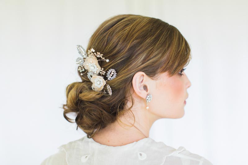 Vintage Inspired Bridal Hair Accessory from Edera Jewlery