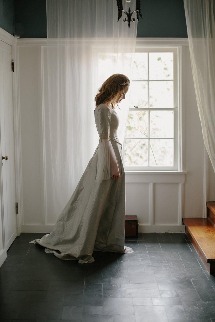 Vintage Inspired Bridal Hair Accessories from Erica Elizabeth Designs