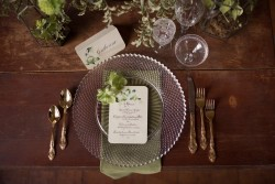 Vintage Inspired Wedding Placesetting // Photography ~ Nataschia Wielink