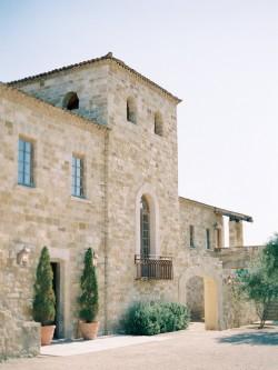 Romantic Tuscan Inspired Wedding Venue // Photography ~ Rachel Solomon Photography