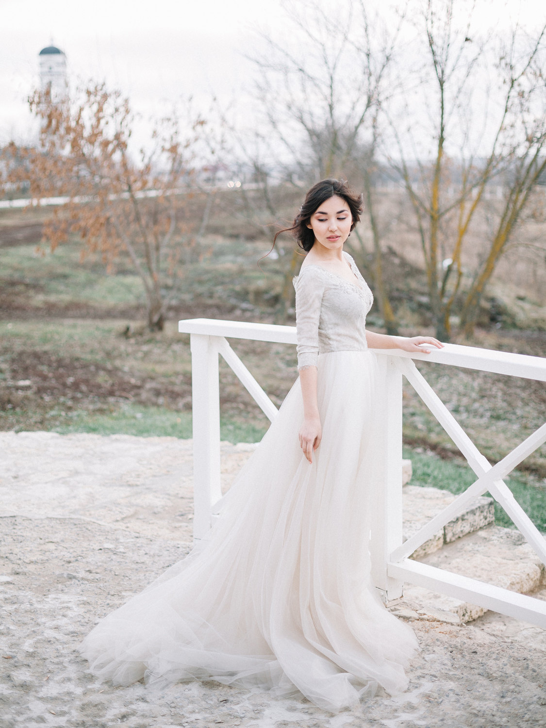 Long Sleeve Wedding Dress Olivia from Carousel