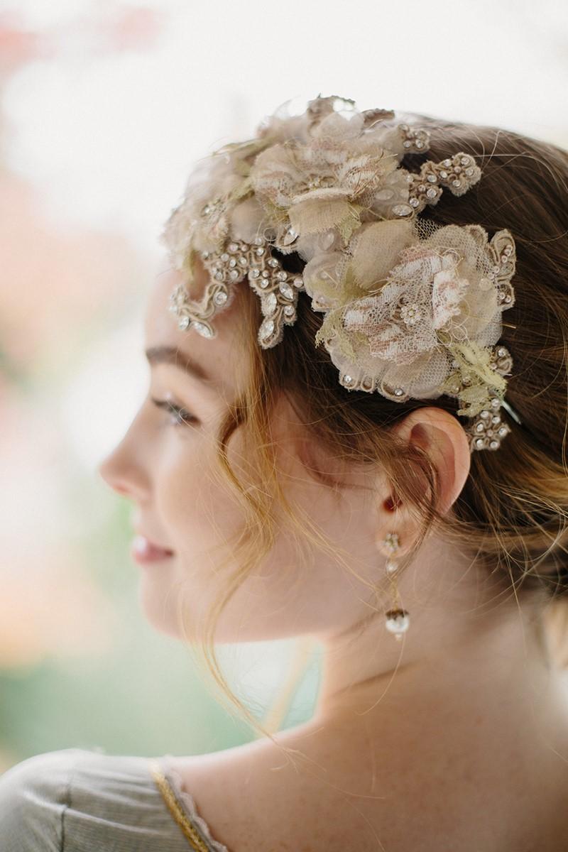 Lace Bridal Hair Accessory from Erica Elizabeth Designs