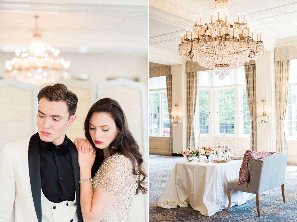 Elegant Gossip Girl Wedding Inspiration // Photography ~ Kerry Jeanne Photography