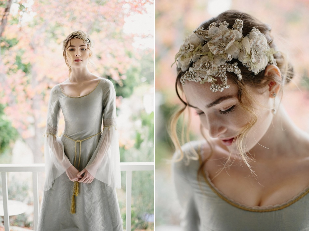 Lace Bridal Headpiece from Erica Elizabeth Designs