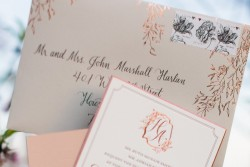Spring Wedding Stationery // Photography ~ Archetype