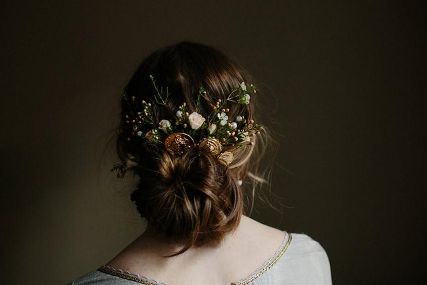 Vintage Inspired Bridal Hair Accessory from Erica Elizabeth Designs