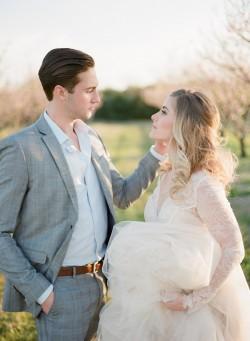 Romantic Spring Wedding Portrait // Photography ~ Archetype