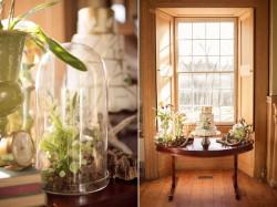 Modern Vintage Green & White Wedding Dessert Table // Photography ~ Nataschia Wielink