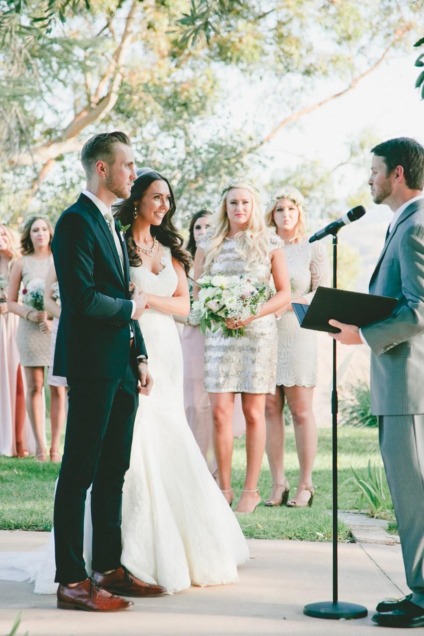 Outdoor Wedding Ceremony // Photography Onelove Photography