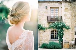 Romantic Modern Vintage Bridal Updo // Photography ~ Rachel Solomon Photography