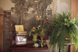 Vintage Green Wedding Decor // Photography ~ Nataschia Wielink