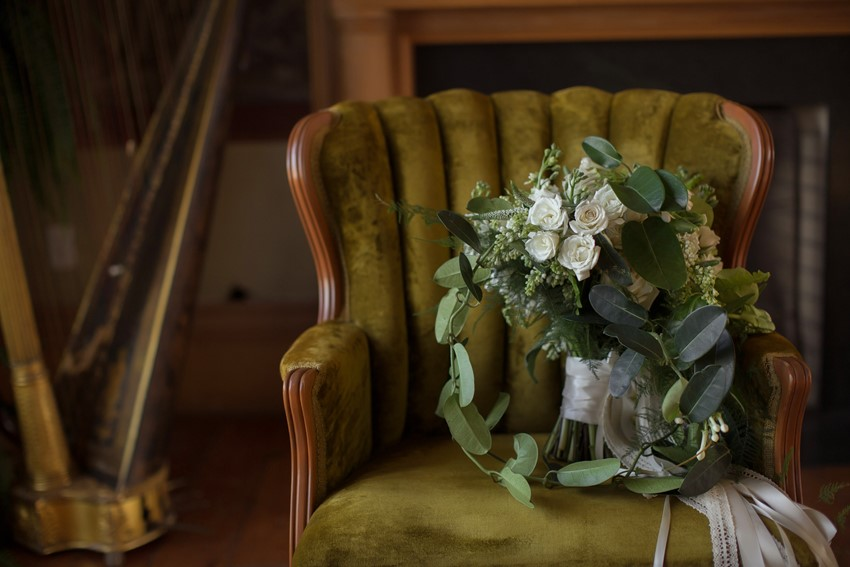 Vintage Green Wedding Decor // Photography ~ Nataschia Wielink