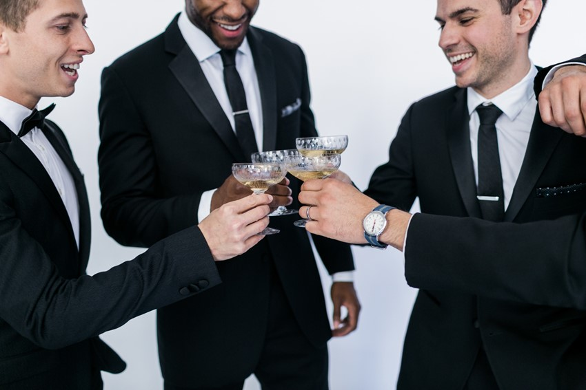 Groom & Groomsmen // Photography ~ Alexis June Weddings