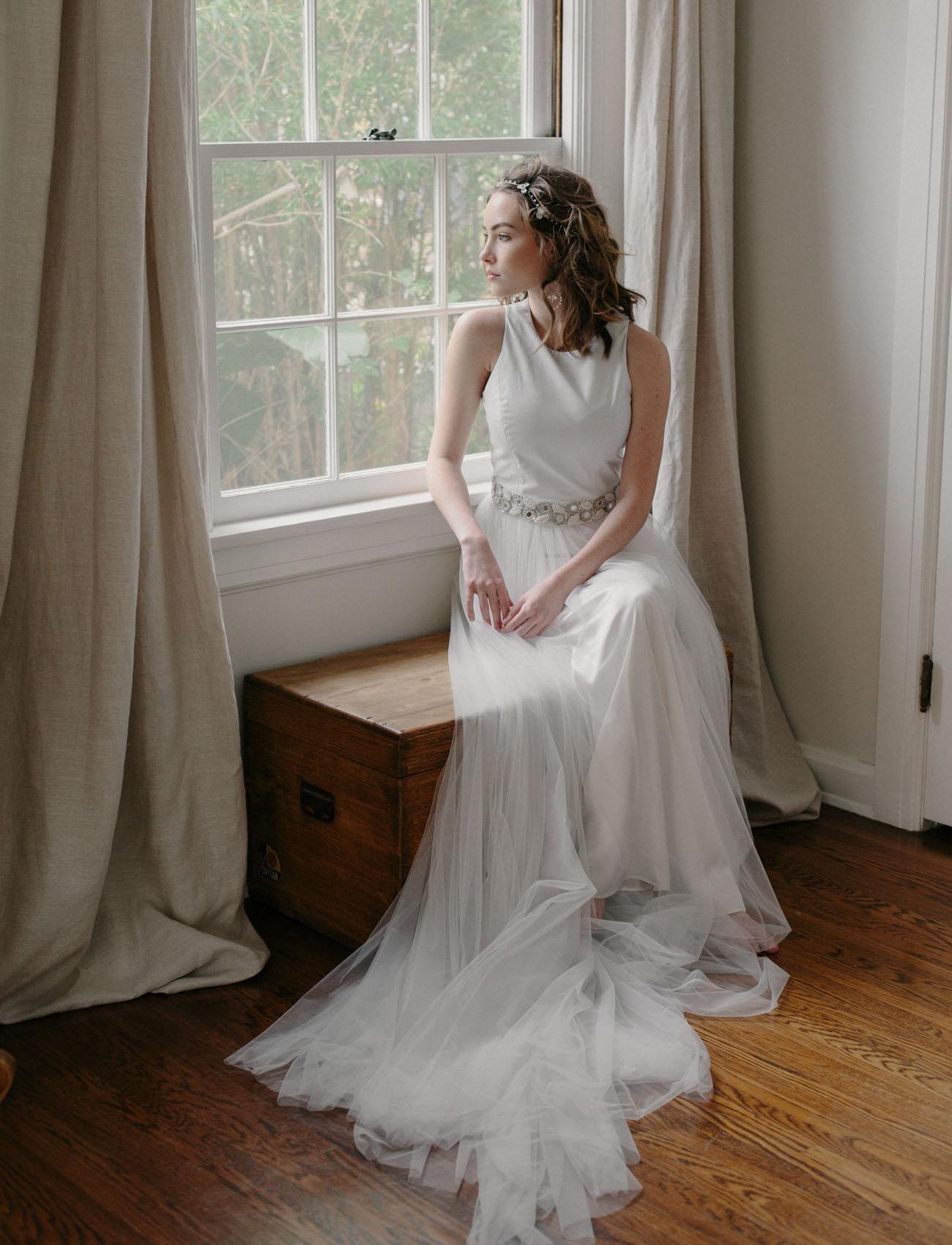 Modern Vintage Bridal Accessories from Erica Elizabeth Designs
