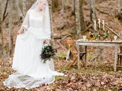 Autumn Woodland Wedding Ideas // Photography ~ Live View Studios