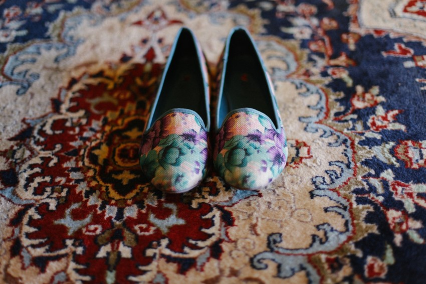 Bridal Slippers // Photography ~ Brown Paper Parcel