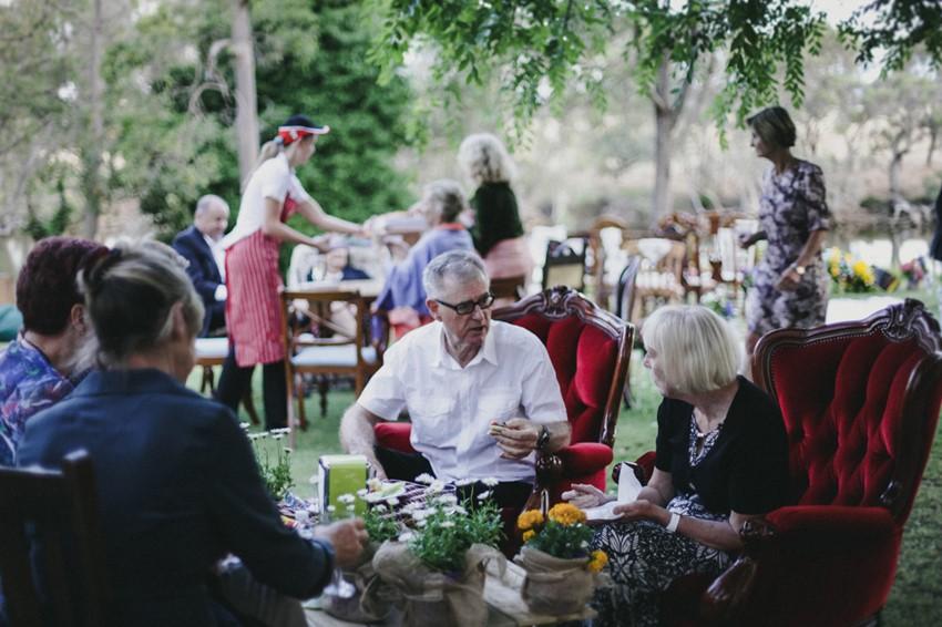 DIY Backyard Wedding Reception // Photography ~ Brown Paper Parcel