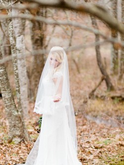 Woodland Bride // Photography ~ Live View Studios