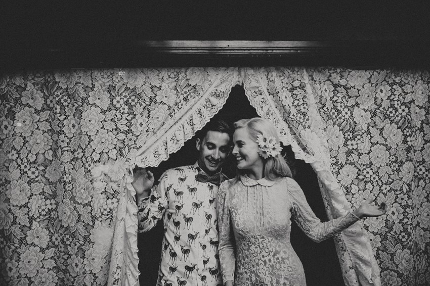 Vintage Bride & Groom // Photography ~ Brown Paper Parcel