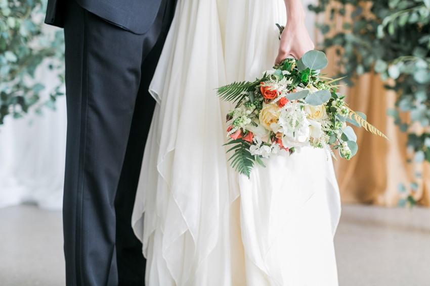 Romantic Bridal Bouquet // Photography ~ Alexis June Weddings