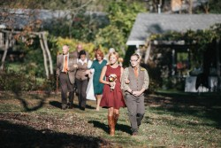 Rustic Autumn Outdoor Wedding // Photography ~ Emily Wren Photography