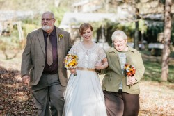 Rustic Autumn Outdoor Wedding // Photography ~ Emily Wren Photography