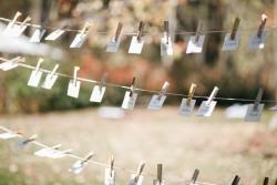 DIY Wedding Escort Cards