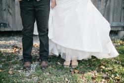 Rustic Vintage Gay Wedding Portraits // Photography ~ Emily Wren Photography