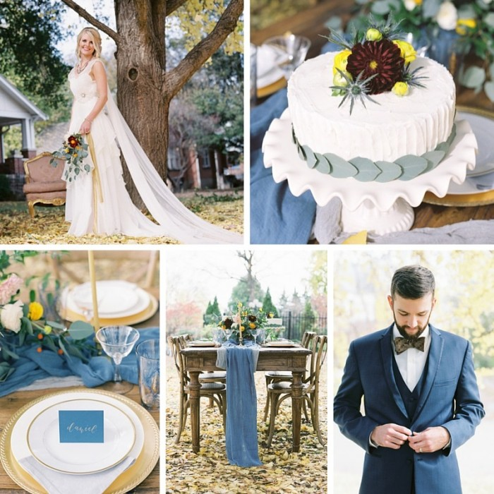 An Autumn Gingko Wedding Inspiration Shoot