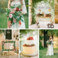 Vintage Boho Autumn Wedding Inspiration // Photography ~ Anna Roussos Photography