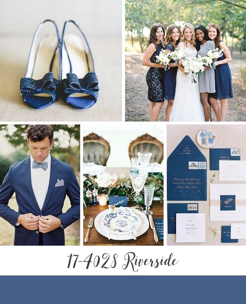 Pantone's Top 10 Wedding Colours for Autumn 2016 - Riverside